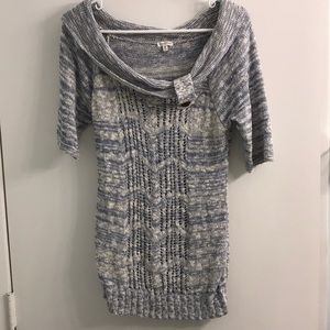 Maurice's short sleeve sweater size med